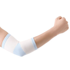 Ελαστικός υποστηρικτής αγκώνα με σιλικόνη Wellcare