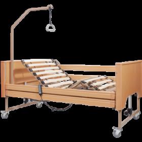 Κρεβάτι ηλεκτρικό πολύσπαστο LIBRA με στρώμα, κάγκελα & αναρτήρα