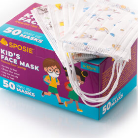 Sposie Παιδικές μάσκες με σχέδια